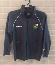 ONTARIO PARKS HERITAGE Mens S Sm Navy Canada Full Zip Fleece Track Jacket