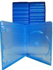 Blu-Ray Hüllen für 1 Disc, 11mm - 70 Stück - blau