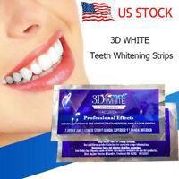 Crest 3D White No Slip Whitestrips Dental Whitening Kit 1 Hour Express 20 Strips