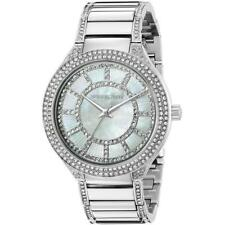 Michael Kors MK3311 Kerry Mother of Pearl Dial Crystal Accent Womens Watch $275