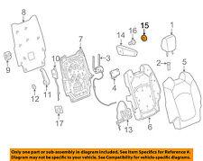 GM OEM Second Row Seats-Armrest Cap 15900279