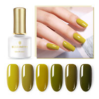 BORN PRETTY 6ml Olive Green Color Gellack Soak Off UV Gel Nagellack Nail Art