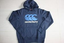 Canterbury Mens Classic Logo Navy Hoodie, sizes S M 2XL, with defects