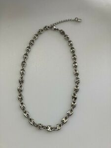 Nikken's Marquesa Magnetic Therapy Necklace, Sparkling stainless steel