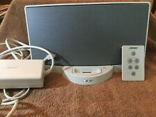 Bose Sound Dock System iPod deck speaker with power supply PSM36W-201 w/ remote