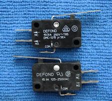 1pcs DMC-1215 Micro Limit Switch 3 Pins 15A 250VAC DEFOND