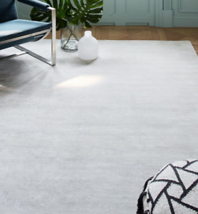 John Lewis & Partners LUCENT Frost Grey Rug - 152cm x 244cm ***RRP £499***