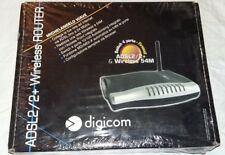 Router Modem Digicom Michelangelo Wave 54M Nuovo Access Point Wireless ADSL2/2+