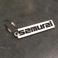 Suzuki Samurai CUSTOM keychain. cnc cut from 11gauge 304 stainless steel !