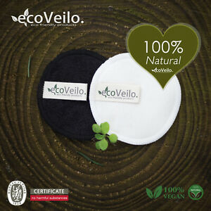 Reusable Make up Remover Pads Bamboo Terry Zero Waste Vegan Organic Washable