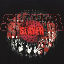 Vintage Slayer Large 2-sided T-shirt Concert Tour Rock Band Metal Demon Skull