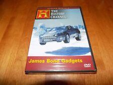 JAMES BOND GADGETS Weapon Gun Cars Weapons Gadget 007 History Channel DVD NEW
