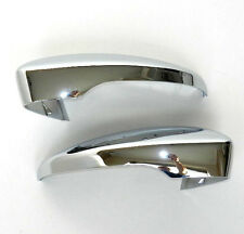 VW PASSAT BEETLE SCIROCCO JETTA EOS 09-UP DOOR WING MIRROR COVER CAP CHROME SET