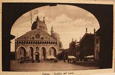 cartolina Padova-Basilica del Santo  viaggiata 1937           13/11/16