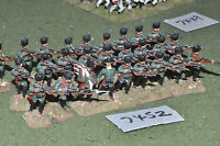 25mm 7YW / russian - seven years war jagers 24 figures metal - inf (7452)