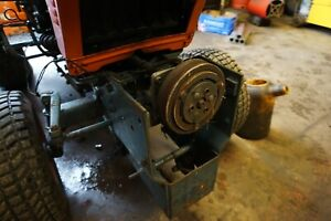 Kubota front PTO with clutch for compact tractor