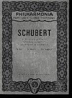 Schubert : StreichQuartett G-dur op. 161 ~ Studienpartitur