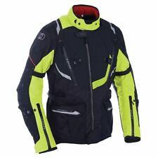 """Oxford Montreal 3.0 Thermal Waterproof Motorcycle Bike Jacket Black Hi Viz - 38"""""""