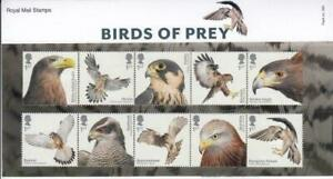 Royal Mail Stamps Presentation Pack 569 Birds of Prey (2019) FREE UK p&p