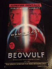 Beowolf CHRISTOPHER LAMBERT RARE SEALED DEMO TAPE VHS