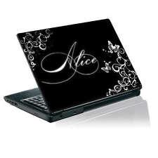 Laptop Calcomanía Vinilo Piel TaylorHe Personalizado Pegatina con tu nombre P233
