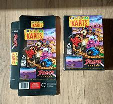 Atari Jaguar, 1 boite jeu ATARI KARTS ( neuf - original - no repro )