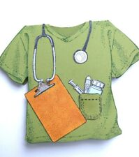 Medical supplies (U get photo #2 NO SHIRT)L@@k@exampleToo Much Fun rubber stamps