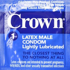 Okamoto Crown Skinless Thin Lightly Lubricated Latex Condoms Choose Quantity