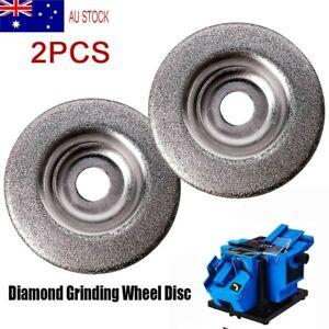 2x 50mm Diamond Grinding Wheel Disc Abrasive Tool For Cutter Sharpener,Stone