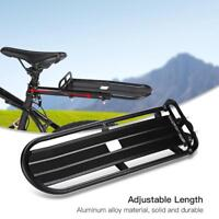 Bike Bicycle Rear Rack Bracket Seat Post Mount Pannier Luggage Carrier Shelf New