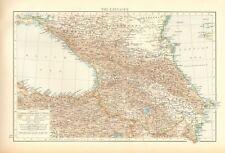 1900 ANTIQUE MAP- THE CAUCASUS