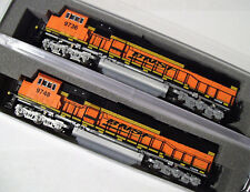KATO COMBO N SD70MAC 2 Locomotive set BNSF 9736 9748 Swoosh 1766320 1766321