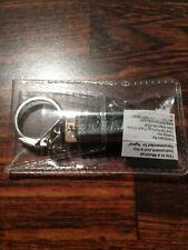 "Hohner Mini Harmonica Key of C Harp Keychain 1.5"" Model #108Brn New in Package"