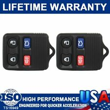 2 Keyless Entry Remote Car 4 Button Key Fob Clicker Transmitter For Ford Mercury