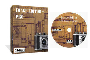 Photo Image Picture Editing Editor Photograph Professional Software CD PC Rom