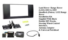Land Rover  Range-Rover  (L322)  2002  2005   Black Double DIN Fascia, Steering