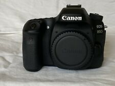 Canon EOS 80D Digital SLR Camera - Black (Body Only) Tested, Excellent Condition