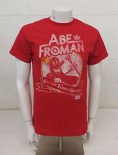 Abe Froman Sausage King of Chicago Red 100% Cotton T-Shirt Medium Ferris Bueller