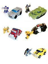 """Figura De Transformers Robot Heroes 2.5"""" & Juegos De Vehículos De Juguete Ideal Para Niños Pequeños"""