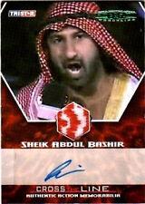 TNA Sheik Abdul Bashir 2008 Autographed Memorabilia /5