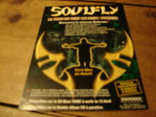 SOULFLY QUILOMBO!!!!!!!!!!!!!!!!!!RARE FRENCH PRESS/KIT