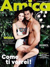 Amica Italy Magazine,Bianca Balti,David Gandy,Lady Gaga,Darya Klishina,Donatella