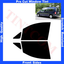 Pre Cut Window Tint VW Caddy Maxi 5 Doors 2008-2010 Front Sides Any Shade