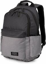 "Swiss Gear 18"" Laptop Daypack 2789 Backpack Book Travel Bag Gray/Black NWT"