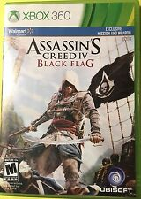 Assassin's Creed IV: Black Flag Walmart Exclusive (Xbox 360, 2013) *New,Sealed*