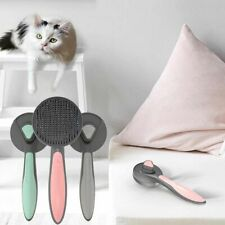Pet Comb For Dogs Grooming Automatic Hair Brush Comb Pet Products DIY UK