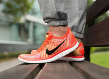 NIKE FREE 4.0 FLYKNIT Running Trainers Shoes Gym - UK 10 (EUR 45) Crimson