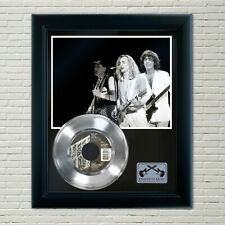 """Cheap Trick """"The Flame"""" Framed 45 Silver Record Display"""