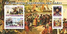 Vasco da Gama  First Expedition to India s/s Tchad 2011 MNH #tchad2011-11 IMPERF