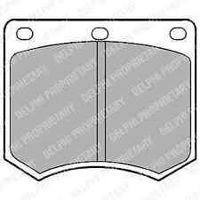 Delphi Front Brake Pad Set LP154 - BRAND NEW - GENUINE - 5 YEAR WARRANTY